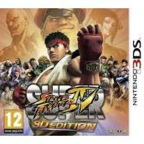 Super Street Fighter IV: 3D Edition sur 3ds