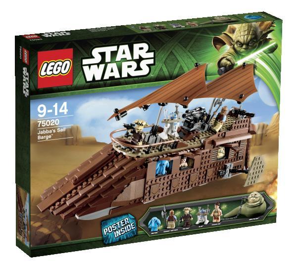 Lego Star Wars - Jabba's Sail Barge - 75020