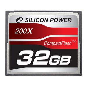 Silicon Power CompactFlash Professional 32 Go 200x @CDA -75%