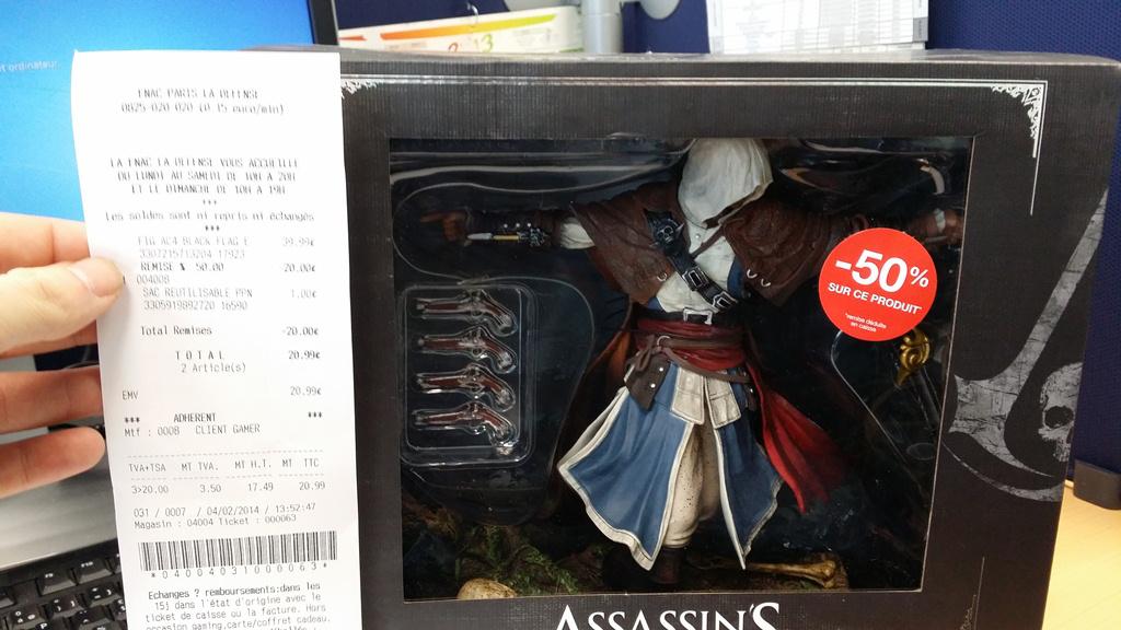 Figurine Edward Kenway Assassin's Creed IV Black Flag