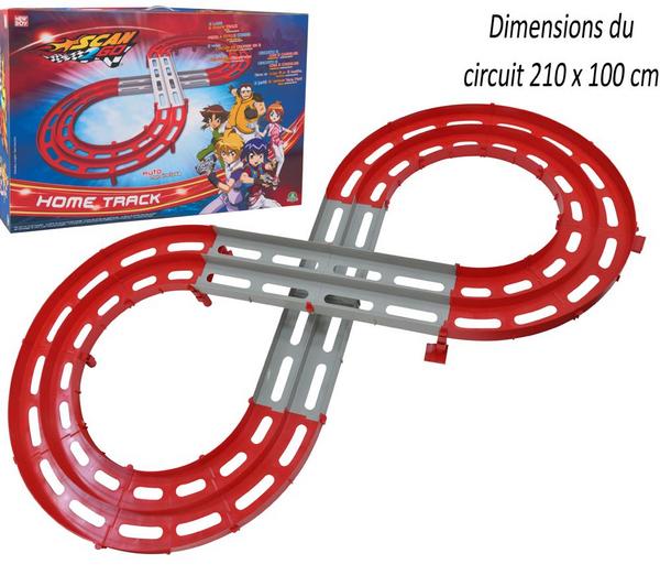 Circuit de course en 8 Giochi Preziosi Scan 2 Go