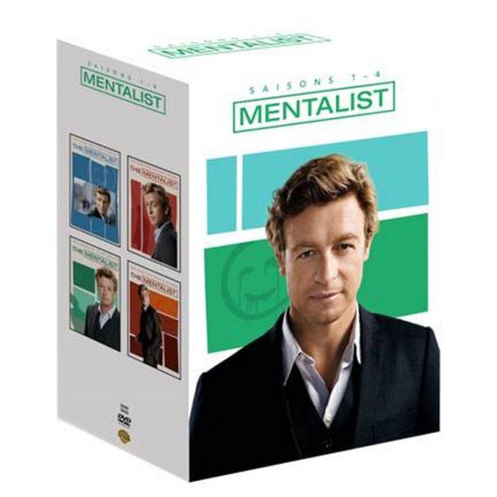 Coffret DVD The Mentalist saisons 1 à 4