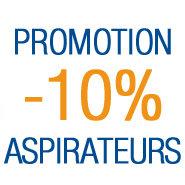 10% de réduction sur les aspirateurs de marque Philips