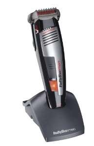 Tondeuse Barbe Babyliss Lames Wtech Waterproof Rechargeable + Socle Rechargeable 3 Jours