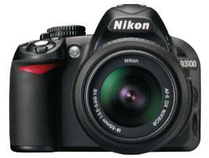 Reflex Nikon D3100 + Objectif stabilisé 18-55 VR + Objectif stabilisé 55 - 200 VR