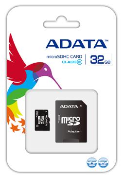 Carte MicroSD Adata 32 Go Classe 10