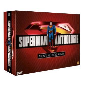 Coffret 10 DVD Superman Anthologie Edition Limitée + le Livre de 320 pages