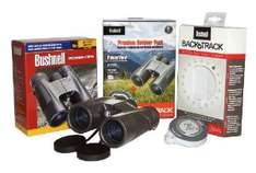 Bushnell Premium Outdoor Pack : Jumelles Powerview 10x42 + GPS Backtrack