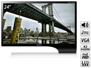 Ecran PC LED 24'' SAMSUNG S24B750V Full HD 2ms Haut-parleurs VGA / 2x HDMI / MHL