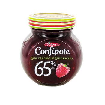 2 Confipotes 350g (différentes variétés)