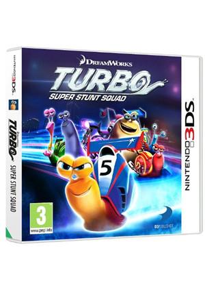 Turbo - Equipe de cascadeurs sur Nintendo 3DS