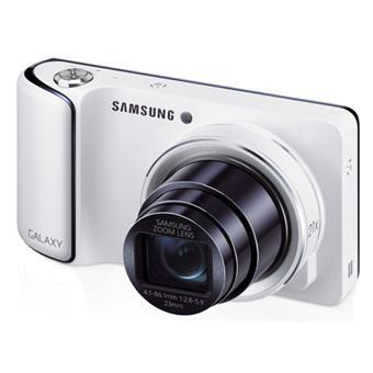 Appareil photo compact Samsung Galaxy Camera Blanc - WiFi, Android Jelly Bean 4.1
