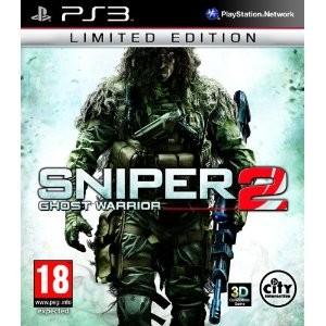 Sniper Ghost Warrior 2 Edition limitée sur PC à 25.28€ et sur PS3 et XBOX 360