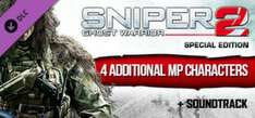 Sniper: Ghost Warrior 2 Collector's Edition Content Upgrade gratuit (au lieu de 18.99€)