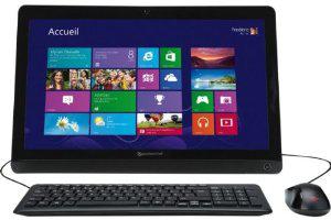 """PC de bureau 20"""" Packard Bell Aio OneTwo S A44G1TU01"""