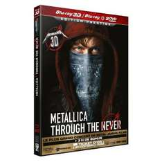 [Offre Adhérents] Metallica Through The Never Blu-ray 3D + 10€ de chèque cadeau