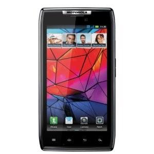 Smartphone Motorola Razr Graphite avec ODR (50€)