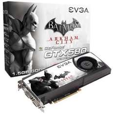 Carte graphique GeForce GTX 580 Batman Arkham City Special Edition EVGA 1024 M PCI-Express 16x