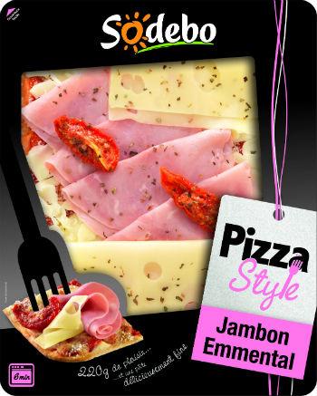 Pizza Style Sodebo Différentes Variétés