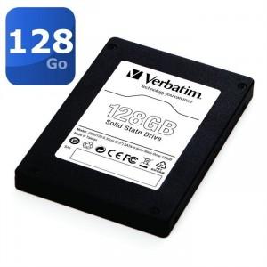 "Disque SSD Verbatim 128Go SSD 2.5"" SATA-II Black Edition"
