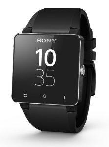 Montre connectee Sony SmartWatch 2 - Bluetooth 3.0 / NFC bracelet silicone