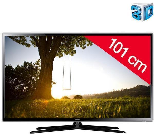 """Téléviseur 40"""" Samsung UE40F6100 Full HD LED 3D + Tablette 7"""" pour enfant Funpad ou Kidspad 3"""