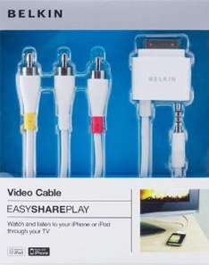 Adaptateur iDevice/Composite Belkin EasySharePlay