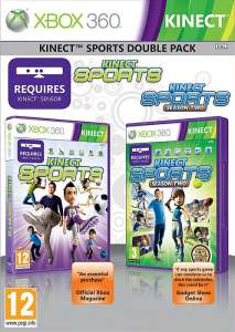 Pack 2 Jeux Kinect Sports Xbox 360