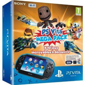 Console Playstation Vita Wifi + Jeux à télécharger Kids Pack ( 10 Jeux) + Carte Mémoire 16 Go