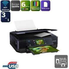 Imprimante Epson 3 en 1 Expression Photo XP-750 (avec ODR de 30€ ou 60€ avec cartouche)