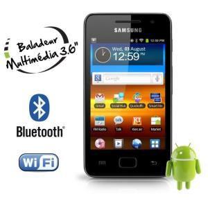 Baladeur MP4 Samsung YP-GS1CB Galaxy S Wifi