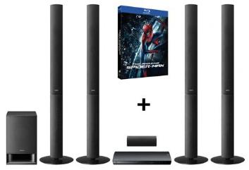 Home cinéma Sony BDVE690 (enceintes colonnes) 3D DLNA - lecteur Blu-ray + Amazing Spiderman