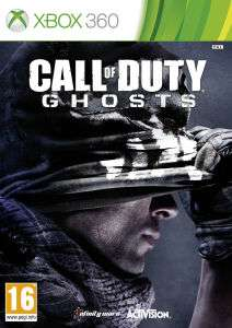 Call Of Duty Ghosts sur Xbox 360 (En anglais)