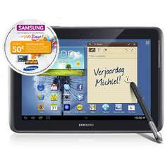 "Tablette Samsung Galaxy Note 10.1"" 4G  - Gris (avec ODR 50€)"