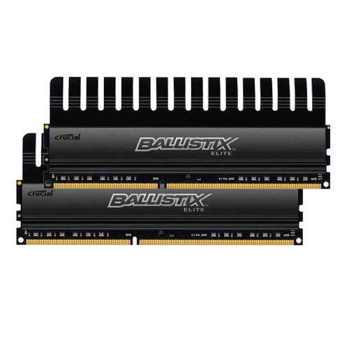 Kit de 2 Barrettes Crucial Ballistix Elite - 2 x 8 Go (16Go) 1866 MHz - DDR3 PC3-14900 - CAS 9