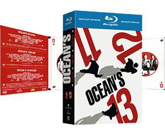Coffret Blu-Ray : Ocean's Eleven - Twelve - Thirteen
