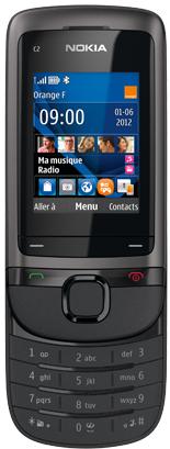 Téléphone Nokia C2-05 gris - mobicarte