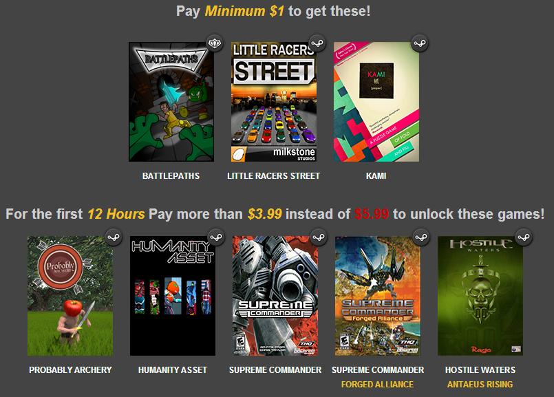 Indie Gala Supreme Bundle (3 jeux PC)