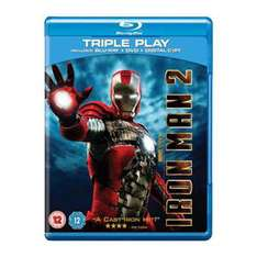 Iron man 2 en Bluray