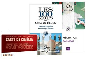 """2 livres """"Que sais-je?"""" achetés = 1 carte de cinéma Gaumont et Pathé 2 pour 1 gratuite"""