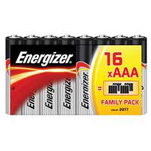 16 piles Energizer AAA ou AA Classic (avec 50% ticket Leclerc)