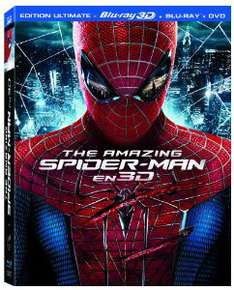 The Amazing Spider-Man - Edition Ultimate (Blu-Ray 3D + Blu-Ray + Dvd)