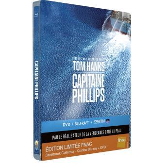 [Offre Adhérents] Capitaine Phillips Combo Blu-Ray Collector (+10€ de bon d'achat)