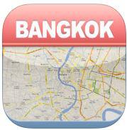 Application iOS Bangkok Offline Carte Ville Metro Airport gratuite (au lieu de 2,69 euros)
