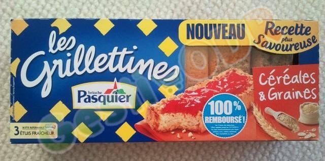 Les Grilletines céréales & graines Pasquier 100% remboursé en bons d'achat