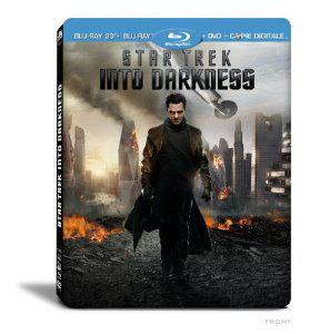 Boîtier métal Star Trek Into Darkness - Combo DVD + Blu-ray + Blu-ray 3D + Copie digitale