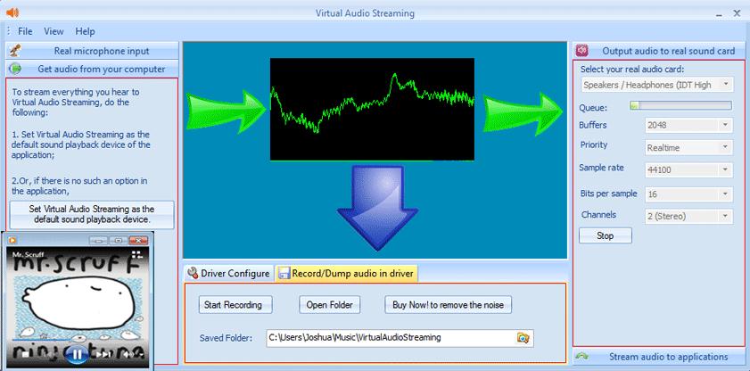 Logiciel Free Virtual Audio Streaming gratuit