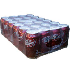 Lot de 24 canettes Dr Pepper 33 cl  - Frais de port gratuits