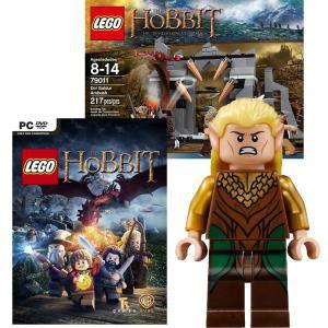 Pack Lego : Le Hobbit Jeu PC + Figurine The Hobbit + Boîte 79011 L'Embuscade de Dol Guldur