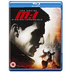 Blu-ray Mission Impossible 1 ou 2